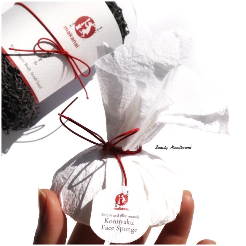 Packaging papier et éponge Konjac Makanai tradition japonaise