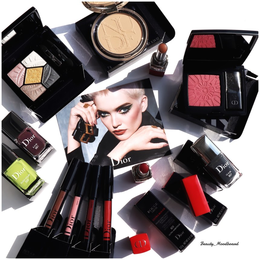 Couleurs urbaines et chic collection maquillage Dior automne 2019