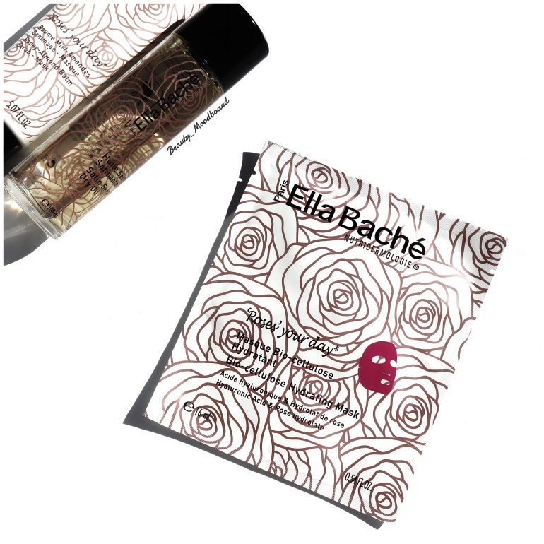 Masque Bio-Cellulose à l'hydrolat de rose hydratant Ella Baché