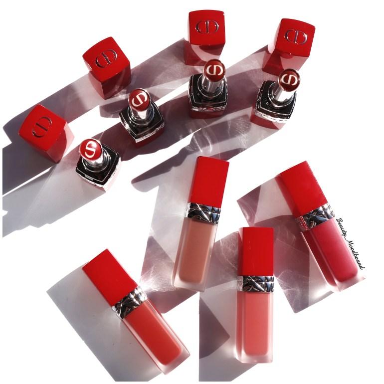 Le premier rouge à lèvres à l'huile florale ultra tenue et soin chez Dior