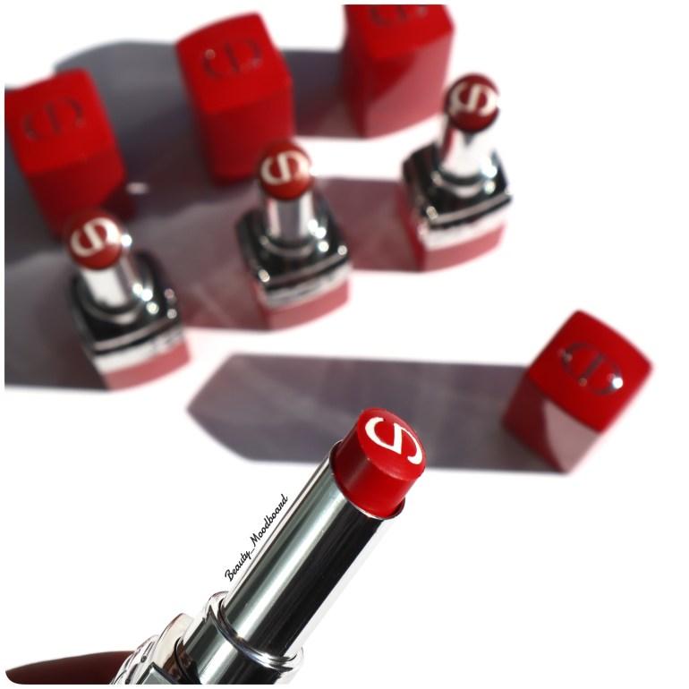 Rouge à lèvres rouge iconique Dior Bloom 999