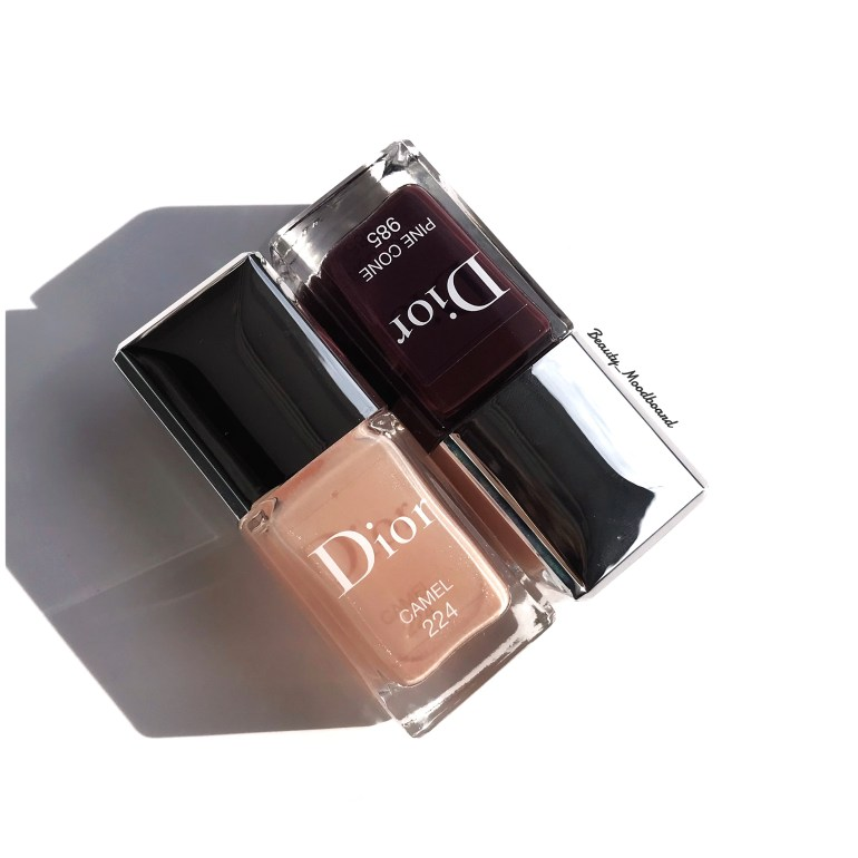 Dior Camel 224 & Pine Cone 985