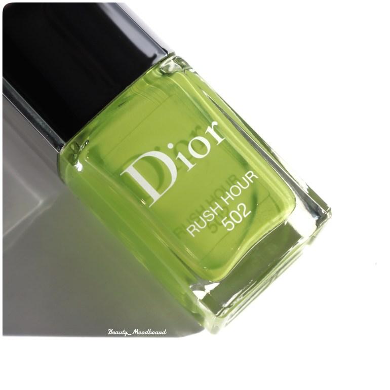 Vernis Dior Rush Hour 502 Vert Chartreux pour le Beauty HorosKope Novembre 2019 du Scorpion