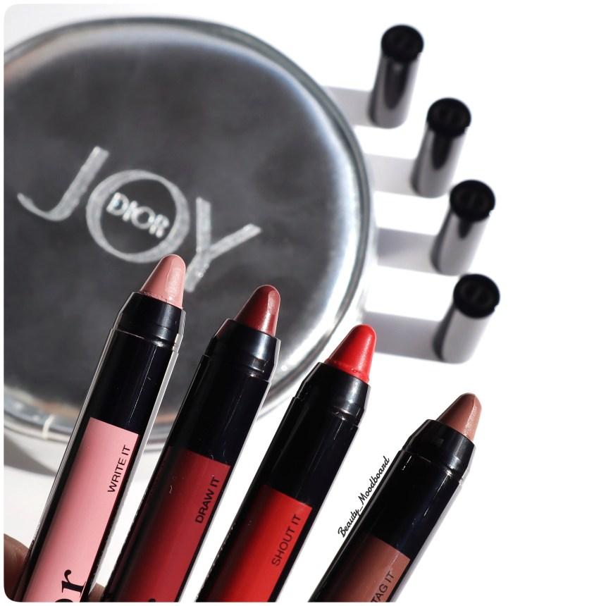 Détail de la mine des nouveaux crayons lèvres Dior