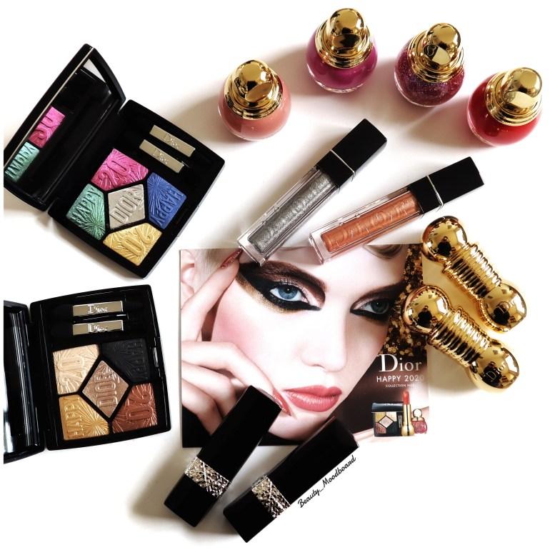 Aperçu du look Noël 2019 Dior Makeup