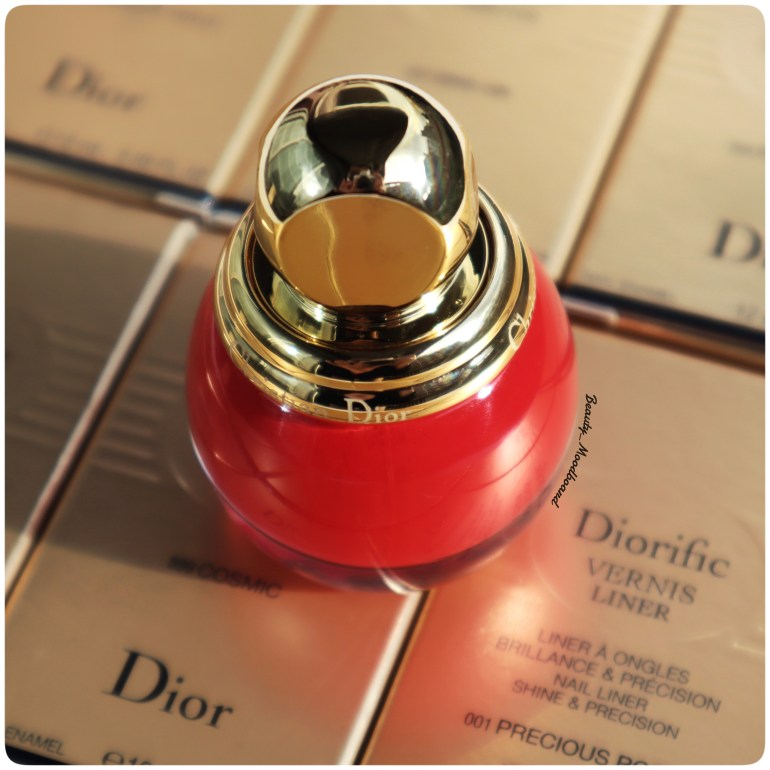 Vernis Dior Dorific Passion 766 Look Noël 2019 Happy 2020