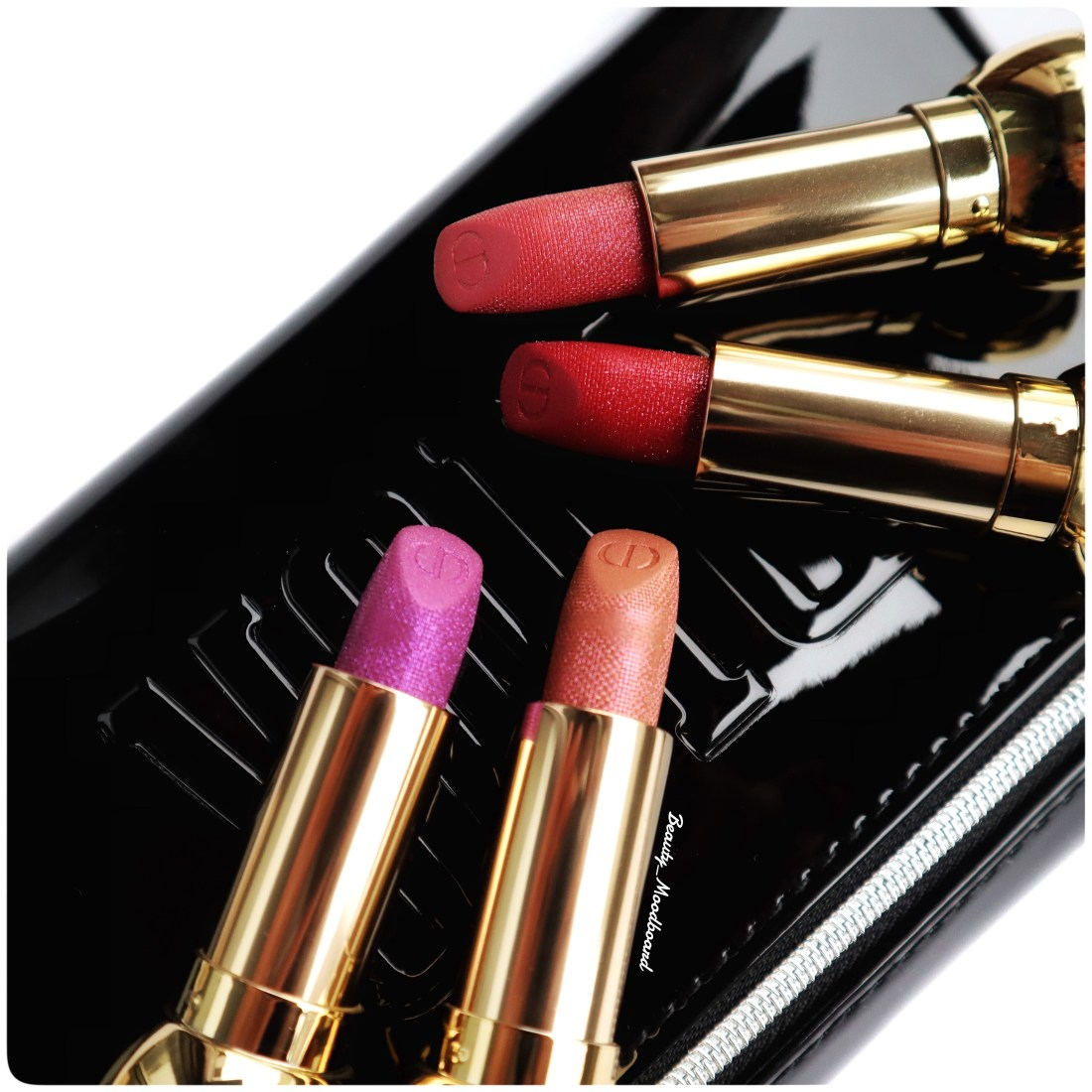 Dior Noël 2019 Rouges à lèvres étincelants