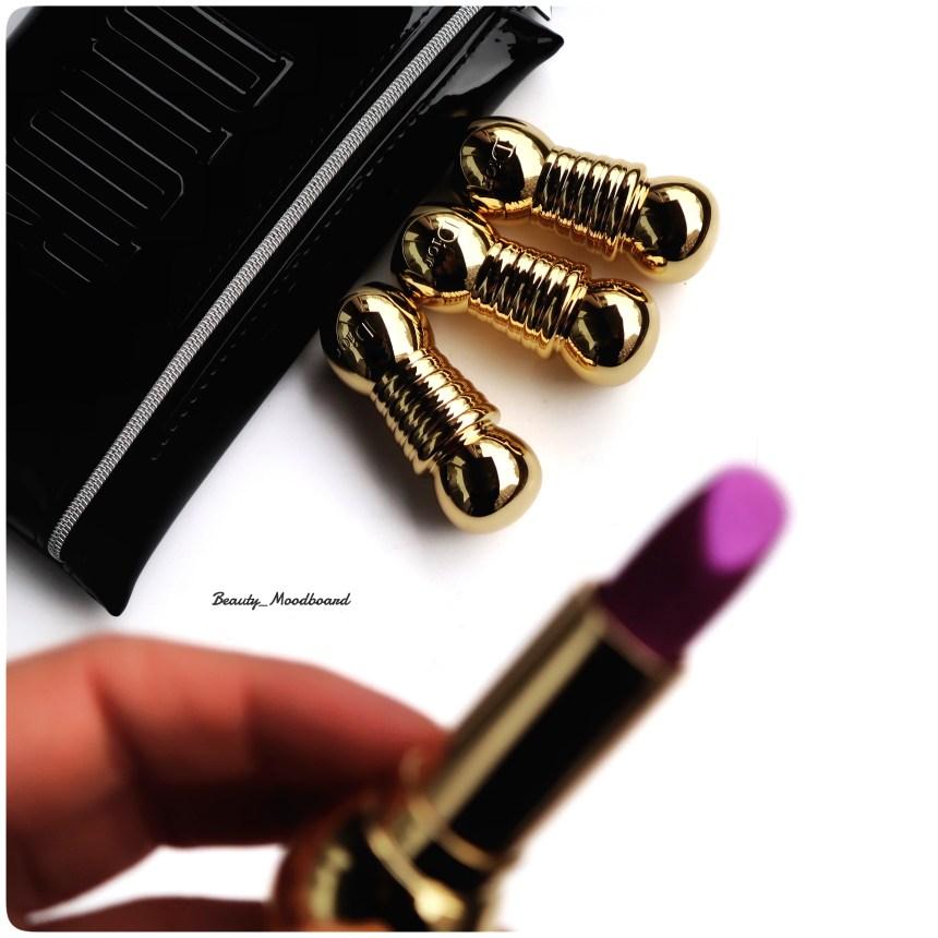 Packaging des rouges à lèvres Dior Diorific