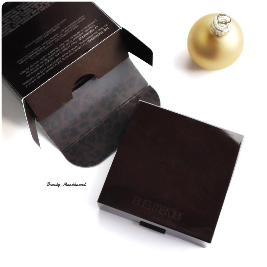 Détail du packaging des poudres de teint illuminatrices LM