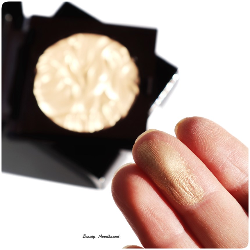 Swatch Highlighter LM Gilded Gold Addiction