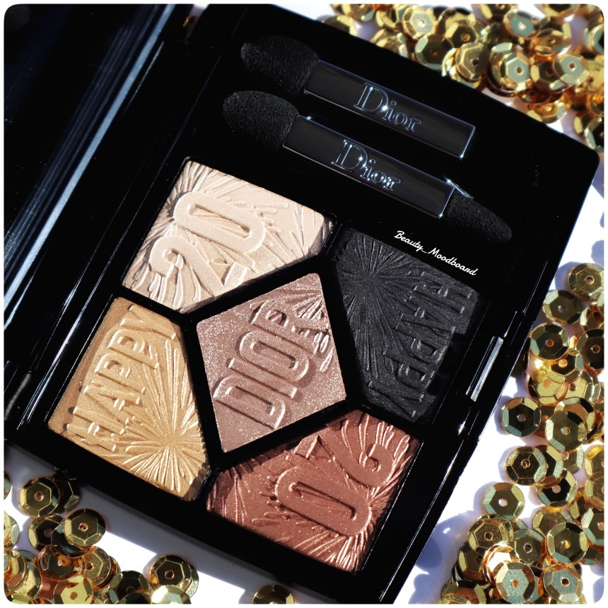 Palette 5 Couleurs Dior Celebrate In Gold 017 Holiday Collection 2019 Happy 2020