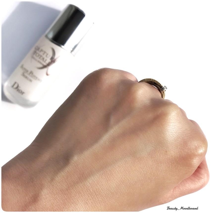 Effet sur la peau Nouveau Dior Capture Totale CELL Energy Super Potent Serum