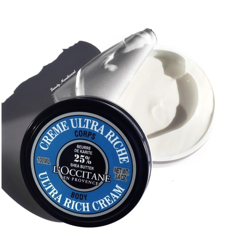 Crème Ultra Riche L'Occitane enrichie de 25% de beurre de karité