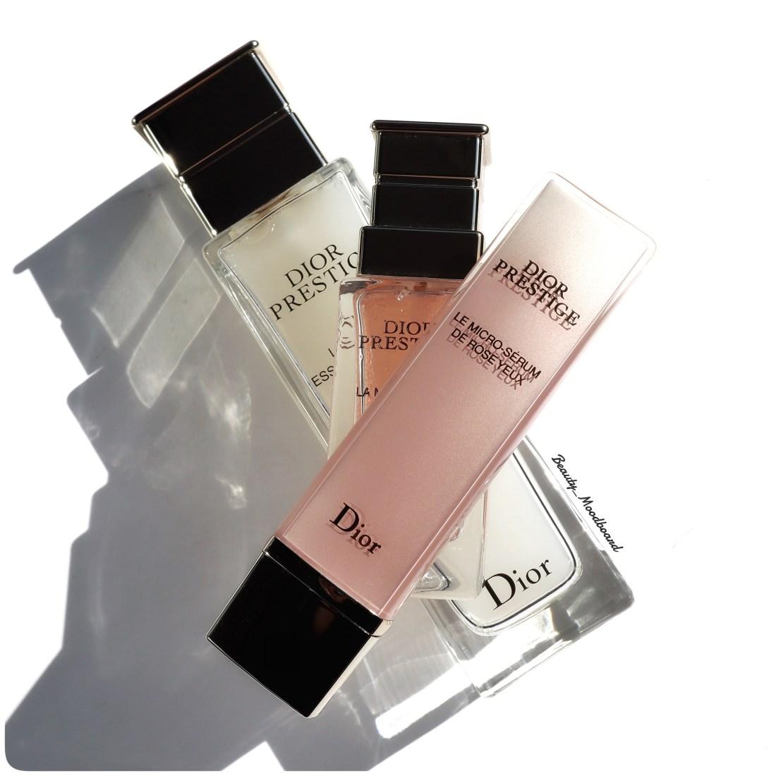 Dior Prestige Le Micro Sérum de Rose Yeux soin contour des yeux haut de gamme Dior