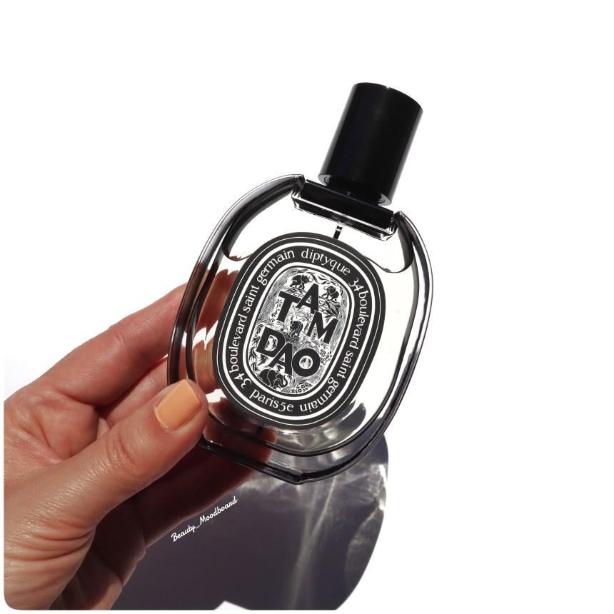 Flacon de parfum arty famille boisé santal de Mysore