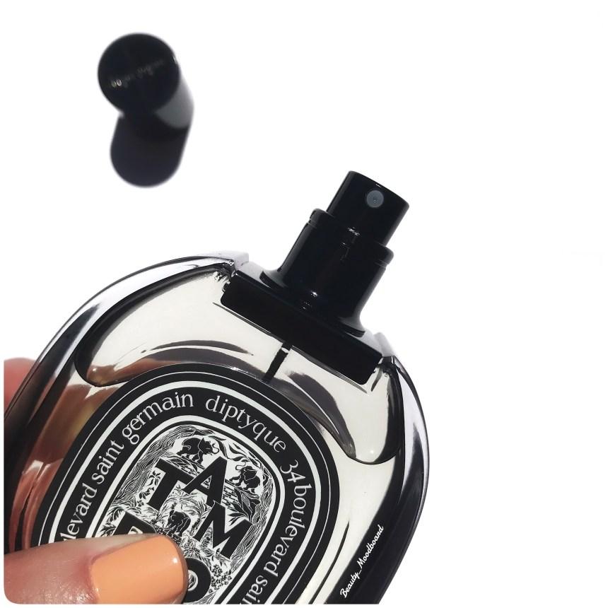 Flacon vaporisateur Eau de parfum boisée
