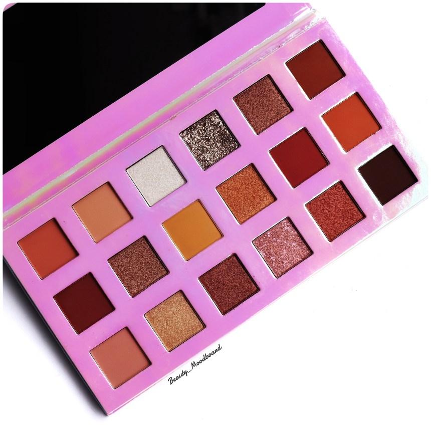 Packaging Artistry Palette Sheglam avis maquillage