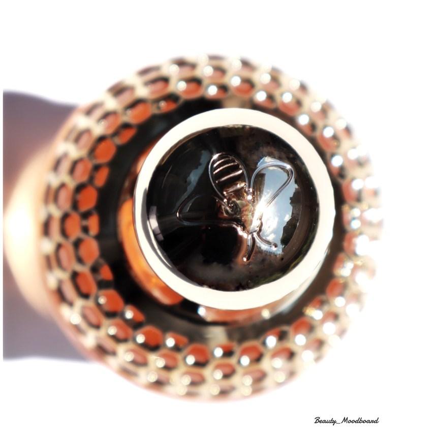Motif Abeille Guerlain flacon de parfum