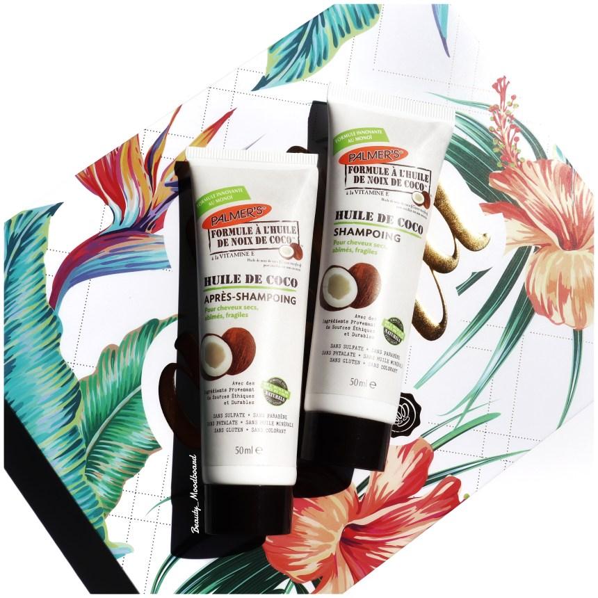 Shampooing & Conditionner huile de coco Palmer's