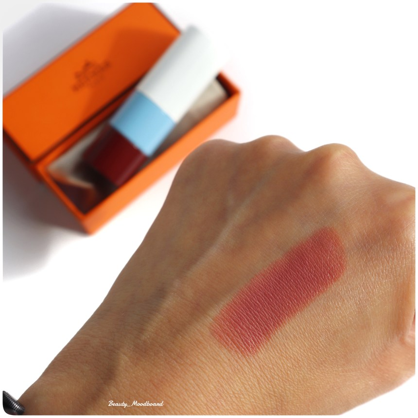 Swatch Rouge Hermès 45 Rose Ombré Satiné