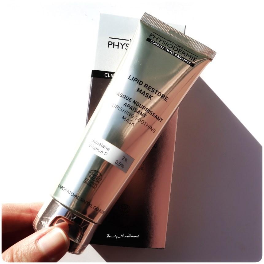 Lipid Restore Mask soin visage bio label ecocert