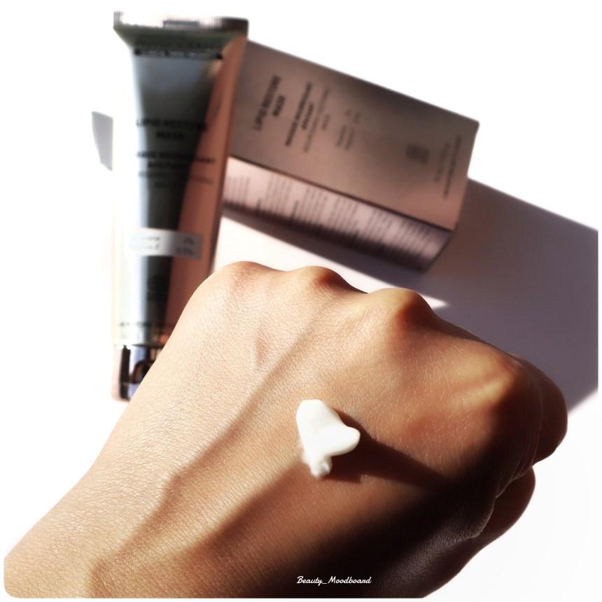 Swatch et Avis Lipid Restore Mask Méthode Physiodermie