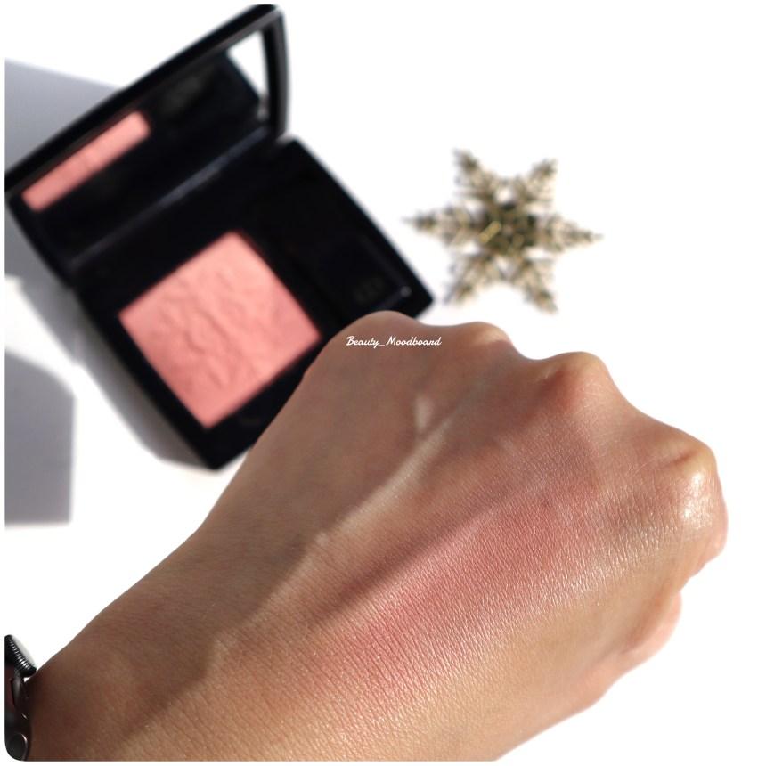 Swatch Dior Rouge Blush Golden Nights Rose Frisson 353
