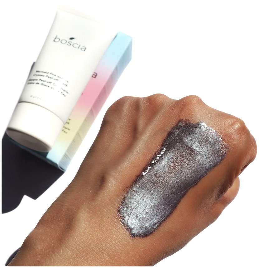 Swatch Boscia Mermaid Fire and Ice Cryosea Peel Off Mask