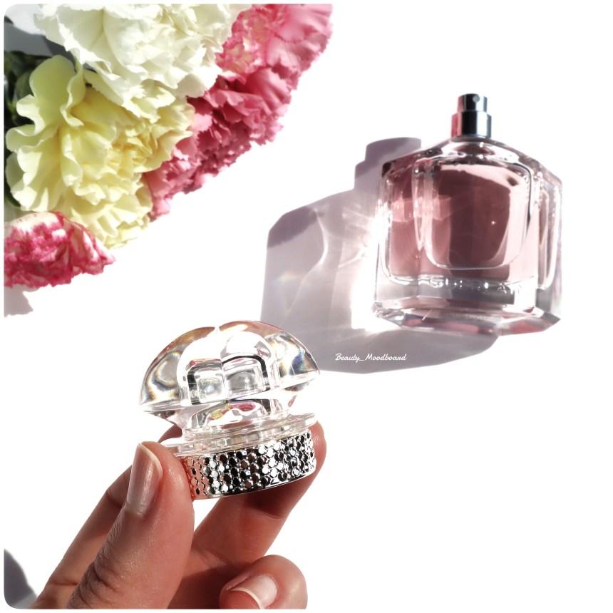 Détail capuchon bague argentée eau de parfum oriental fleuri printemps 2021