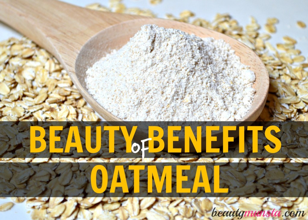 beauty benefits of oatmeal