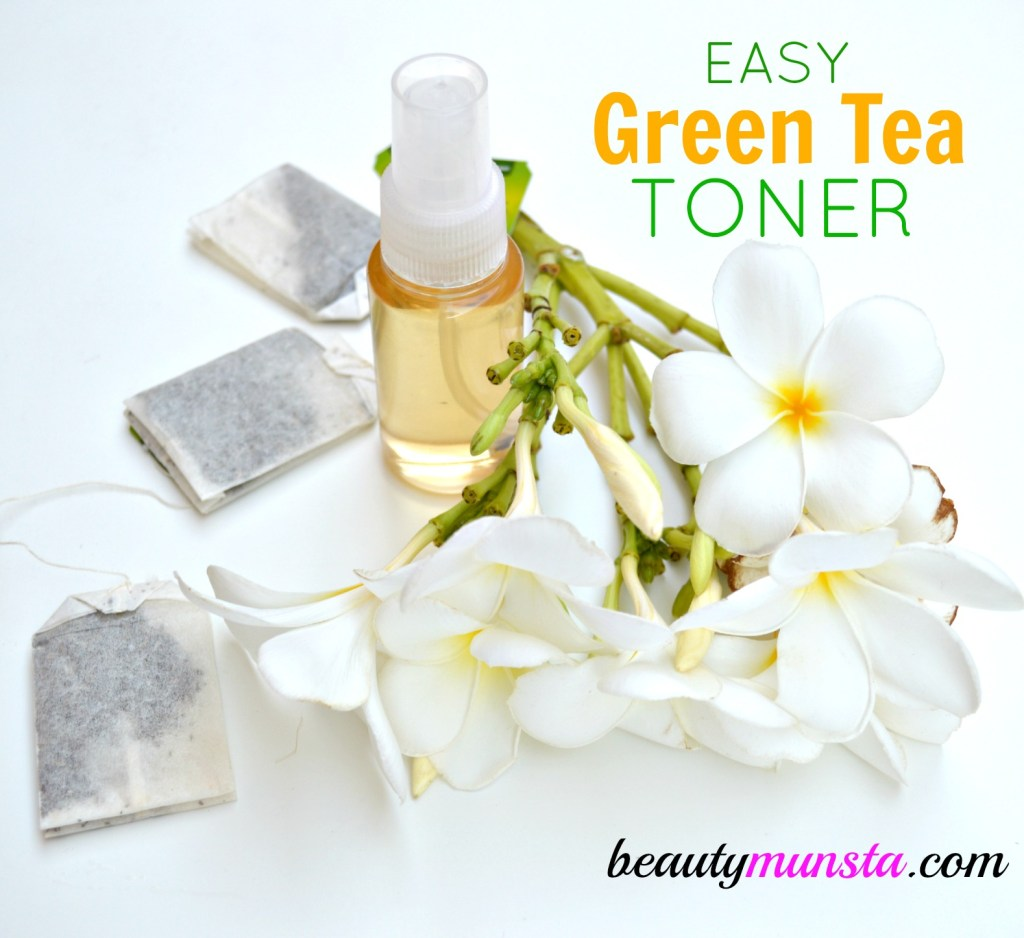 Green tea toner ready!
