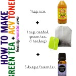Green Tea Apple Cider Vinegar Toner