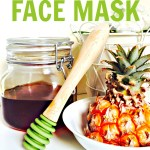 Pineapple and Honey Face Mask
