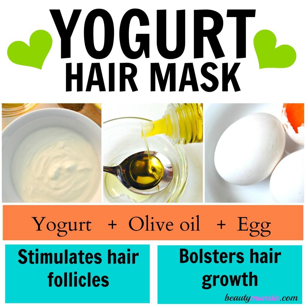 yogurt hair mask for growth