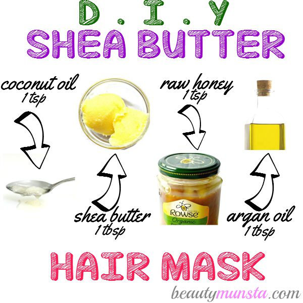 Homemade shea butter hair mask recipe for gorgeous curls! Deep condition, seal in moisture and nourish your beautiful hair!