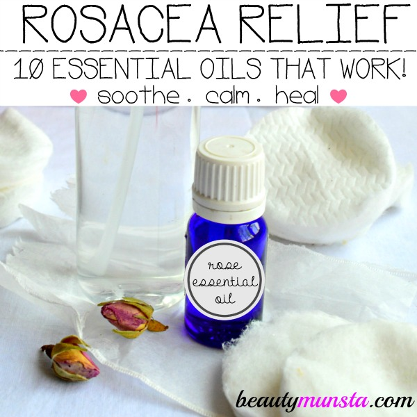 Naturally soothe, calm and heal inflamed, burning, red and painful skin with essential oils!