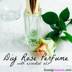 DIY Romantic Essential Oil Perfume Spray Recipe without Alcohol