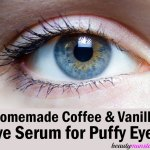 Homemade Eye Serum for Puffy Eyes with Coffee & Vanilla
