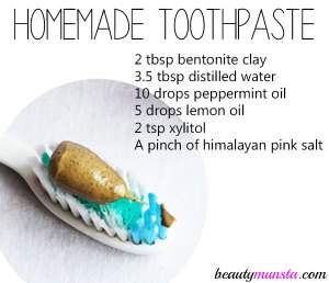 Homemade Toothpaste with Bentonite Clay – Easy Peasy Recipe!
