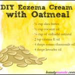 DIY Eczema Cream with Oatmeal