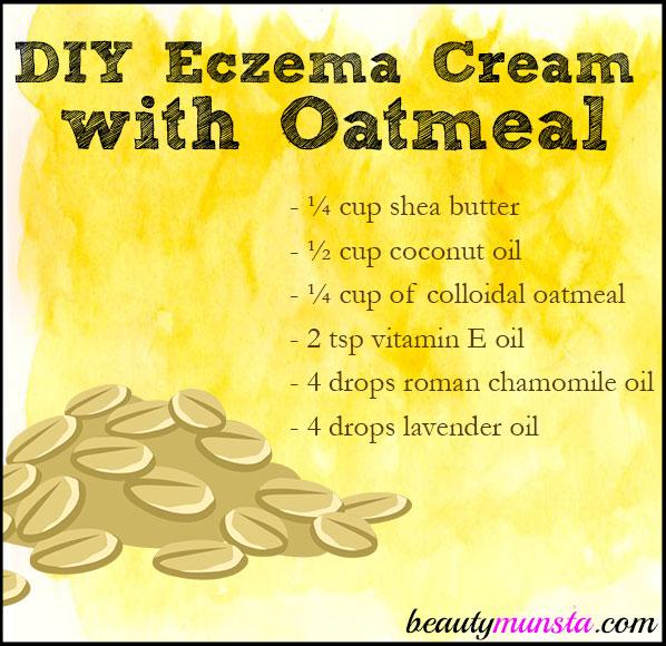 diy eczema cream with oatmeal
