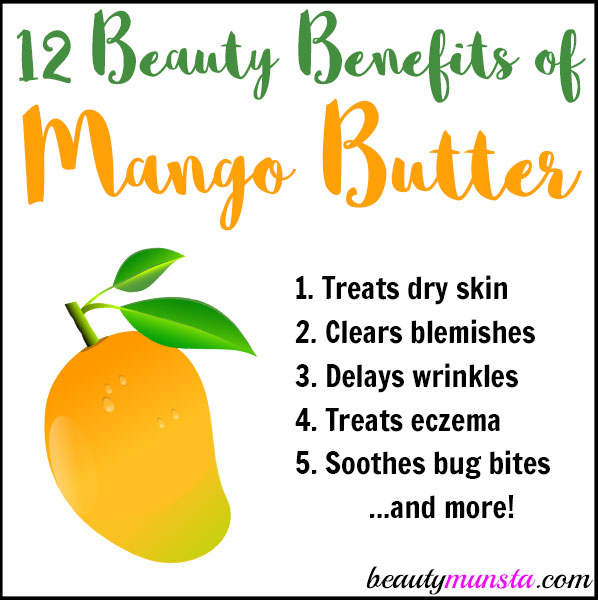 Discover the beauty benefits of mango butter for gorgeous skin & hair! Find recipes too!