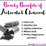 12 Beauty Benefits of Activated Charcoal for Skin, Hair & More