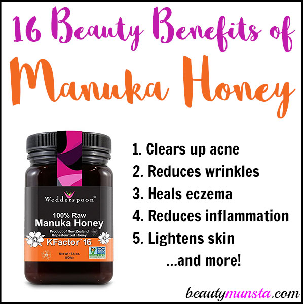 Discover 16 beauty benefits of manuka honey for skin, hair & more!