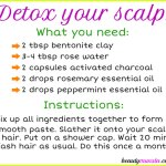 DIY Activated Charcoal Scalp Treatment | Detox Your Scalp!
