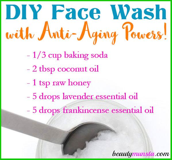 DIY Anti Aging Face Wash Recipe Beautymunsta