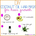DIY Coconut Oil Hair Mask for Hair Growth & More