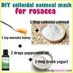 DIY Colloidal Oatmeal Mask for Rosacea