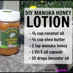 DIY Manuka Honey Lotion for Eczema, Psoriasis and More
