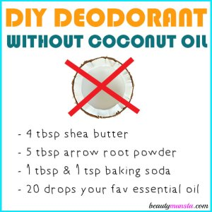DIY Deodorant without Coconut Oil
